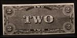 1962 Topps Civil War News Currency #3   $2 Serial #2473 Back Thumbnail