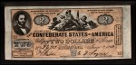 1962 Topps Civil War News Currency #3   $2 Serial #2473 Front Thumbnail