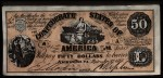 1962 Topps Civil War News Currency #13   $50 Serial #31351 Front Thumbnail