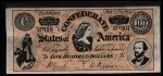 1962 Topps Civil War News Currency #15   $100 Serial #801 Front Thumbnail
