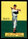 1964 Topps Stand Up  Carl Yastrzemski  Front Thumbnail