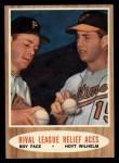 1962 Topps #423   -  Roy Face / Hoyt Wilhelm Rival League Relief Aces Front Thumbnail