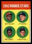 1963 Topps #549   -  Marcelino Lopez / Paul Ratliff / Pete Lovrich / Elmo Plaskett Rookies Front Thumbnail