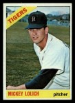 1966 Topps #455  Mickey Lolich  Front Thumbnail