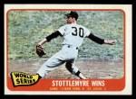1965 Topps #133   -  Mel Stottlemyre 1964 World Series - Game #2 - Stottlemyre Wins Front Thumbnail