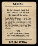 1936 Goudey #18  Pinky Higgins  Back Thumbnail