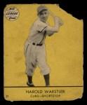1941 Goudey #21 YEL Harold Warstler  Front Thumbnail