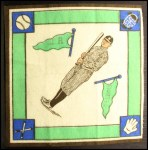 1914 B18 Blankets #14 WI Ty Cobb   Back Thumbnail