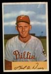 1954 Bowman #191  Karl Drews  Front Thumbnail
