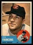 1963 Topps #248  Tito Francona  Front Thumbnail