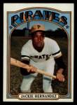 1972 Topps #502  Jackie Hernandez  Front Thumbnail