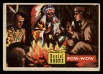 1956 Topps Round Up #45   -  Daniel Boone  Pow-Wow Front Thumbnail