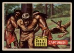 1956 Topps Round Up #42   -  Daniel Boone  Captured Front Thumbnail