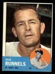 1963 Topps #230  Pete Runnels  Front Thumbnail