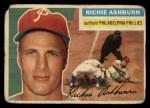 1956 Topps #120  Richie Ashburn  Front Thumbnail