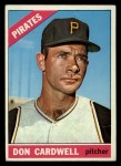 1966 Topps #235  Don Cardwell  Front Thumbnail