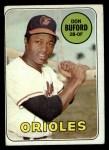 1969 Topps #478  Don Buford  Front Thumbnail