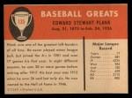 1961 Fleer #135  Eddie Plank  Back Thumbnail