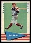 1961 Fleer #87  Hack Wilson  Front Thumbnail