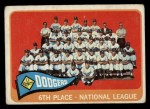 1965 Topps #126   Dodgers Team Front Thumbnail