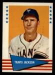 1961 Fleer #115  Travis Jackson  Front Thumbnail
