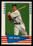 1961 Fleer #151  Dixie Walker  Front Thumbnail
