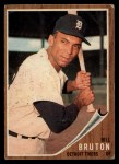 1962 Topps #335  Billy Bruton  Front Thumbnail