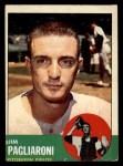 1963 Topps #159  Jim Pagliaroni  Front Thumbnail