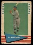 1961 Fleer #9  Jim Bottomley  Front Thumbnail