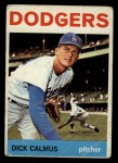 1964 Topps #231  Dick Calmus  Front Thumbnail