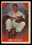 1960 Fleer #70  Bobo Newsom  Front Thumbnail