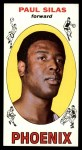1969 Topps #61  Paul Silas  Front Thumbnail