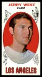 1969 Topps #90  Jerry West  Front Thumbnail