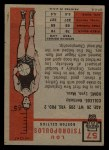 1957 Topps #57  Lou Tsioropoulos  Back Thumbnail