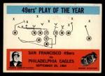 1965 Philadelphia #182   -  Jack Christiansen San Francisco 49ers Front Thumbnail