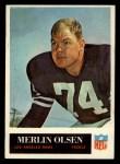 1965 Philadelphia #94  Merlin Olsen  Front Thumbnail