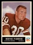 1965 Philadelphia #37  Bernie Parrish   Front Thumbnail