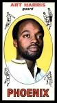 1969 Topps #76  Art Harris  Front Thumbnail