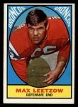 1967 Topps #40  Max Leetzow  Front Thumbnail