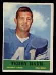 1964 Philadelphia #57  Terry Barr  Front Thumbnail