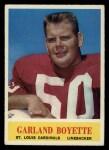 1964 Philadelphia #169  Garland Boyette   Front Thumbnail