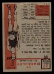 1957 Topps #27  Ed Macauley  Back Thumbnail