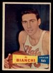 1957 Topps #59  Al Bianchi  Front Thumbnail