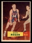 1957 Topps #50  Richie Regan  Front Thumbnail