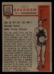 1957 Topps #38  Guy Sparrow  Back Thumbnail
