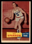1957 Topps #38  Guy Sparrow  Front Thumbnail