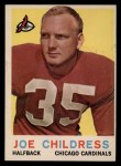 1959 Topps #13  Joe Childress  Front Thumbnail