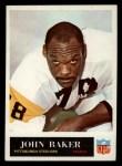 1965 Philadelphia #142  John Baker   Front Thumbnail
