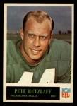 1965 Philadelphia #137  Pete Retzlaff   Front Thumbnail