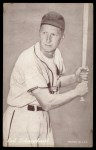 1947 Exhibits BAT Red Schoendienst   Front Thumbnail